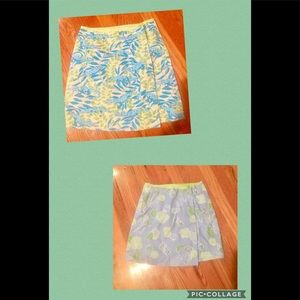 Lilly Pulitzer Big Girls Reversible Wrap Skirt